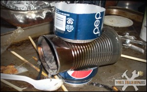 Hillbilly Sterno Stove – White Trash Repairs