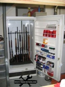 White Trash Gun Safe – White Trash Repairs