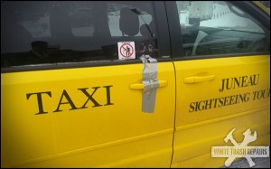 Taxi at your service! – White Trash Repairs