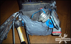 Duct tape tool bag – White Trash Repairs