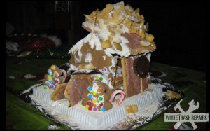 Westboro Baptist Church Gingerbread Church – White Trash Repairs