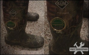 Holy Boots! – White Trash Repairs
