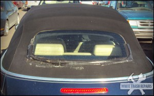 Bubba's Convertibl​e Window – White Trash Repairs
