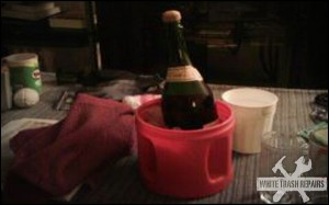 White Trash Champaign Bucket