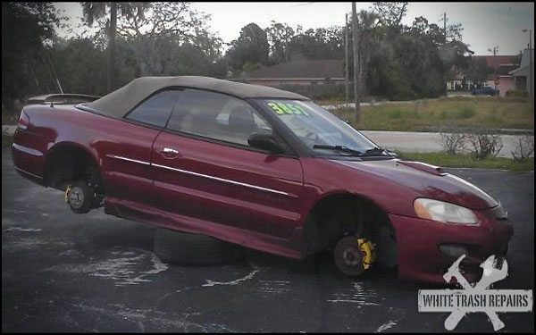 Tires and Rims Not Included