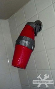 Solo Cup Shower