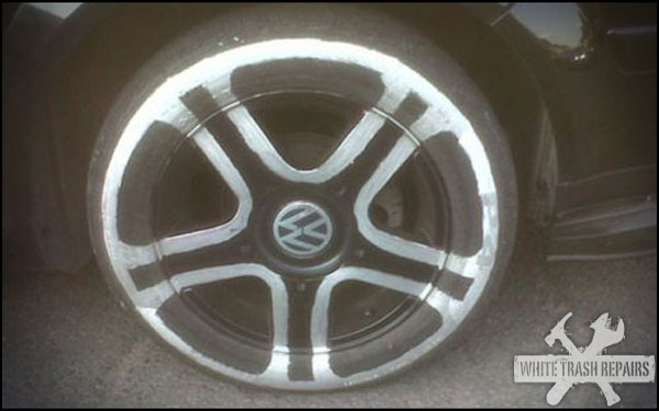 Ghetto Rims and Tires