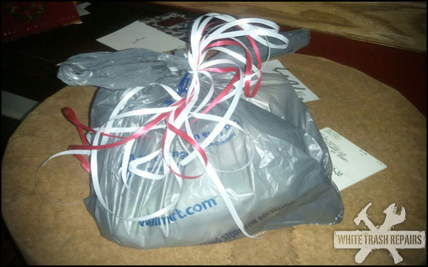 White Trash Gift Wrapping