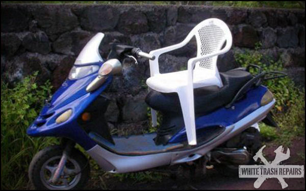 Scooter Captans Chair