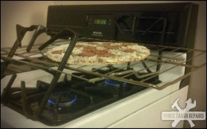 Stove Top Pizza