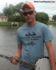Get A Banjo T-shirt HERE