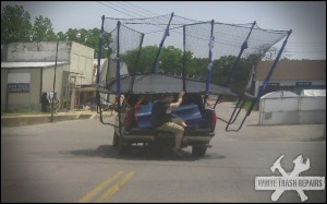 Moving a Trampoline