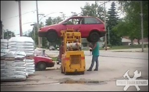 Bubba's Car Lift