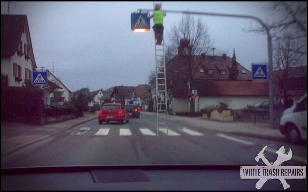 Changing The Street Light