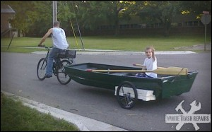 No boat hauler? no problem
