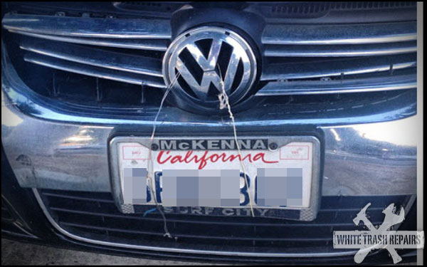 Wired License Plate