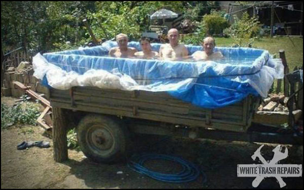 Traveling Pool Party