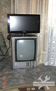 Stacked TV
