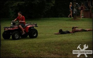 ATV Slip and Slide