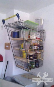 Shopping Cart Shelf