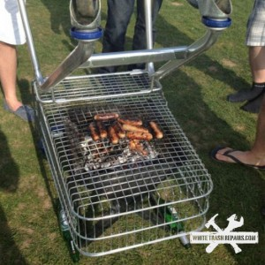 BBQ Shopping Cart