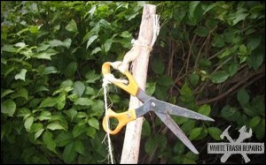 Hillbilly Hedge Clippers