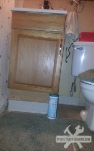 Bathroom Cabinet Repair