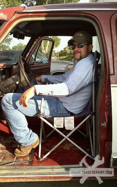 Truck Captain Chair