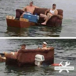 Lazy Boating