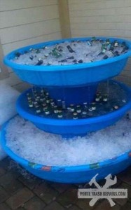 Redneck Beer Fountain