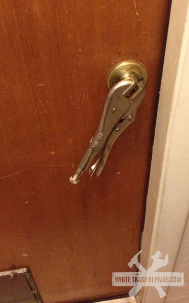 Broken Door Handle