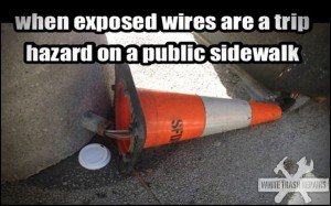 Exposed Wires