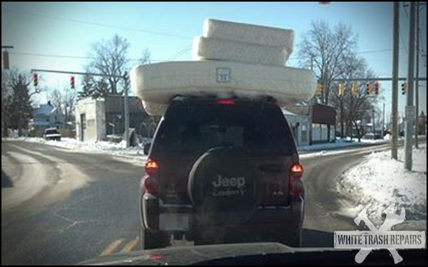 Jeep Liberty Bed