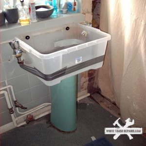 Storage Container Sink