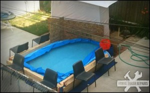 Trailer Park Community Pool