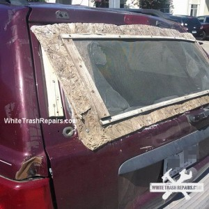 Custom Back Window