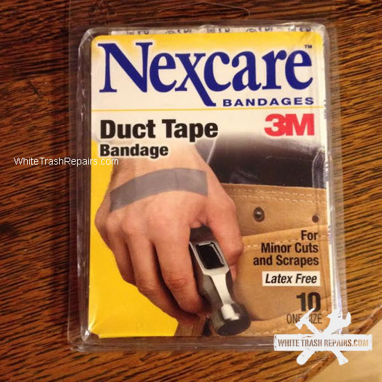 Duct Tape Bandaids