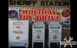 Sheriff Holiday Toy Drive