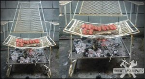 old-chair-grill