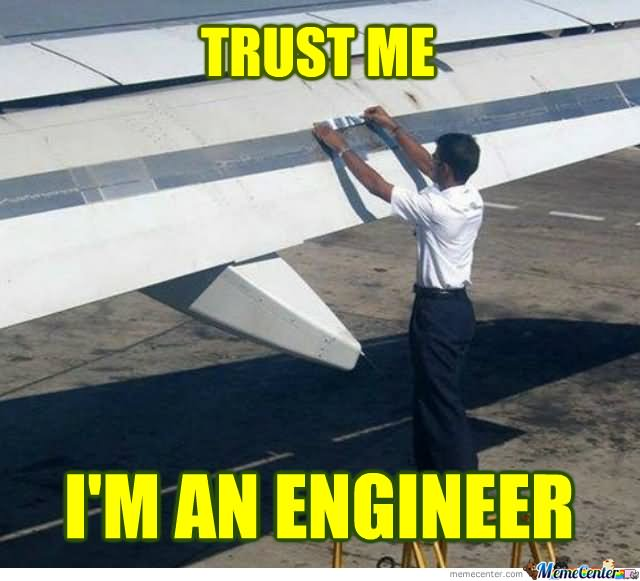 funny-man-fix-duct-on-plane-wing-trust-me-i-am-an-engineer